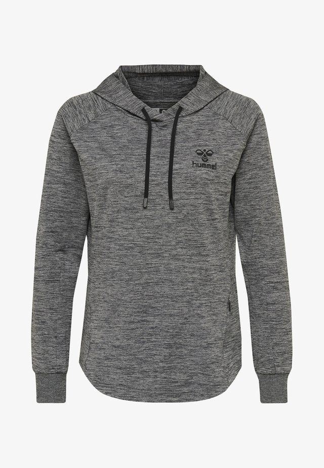 HMLSELBY - Hættetrøjer - dark grey melange