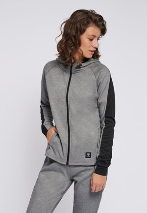 HMLESSI  - Training jacket - grey melange