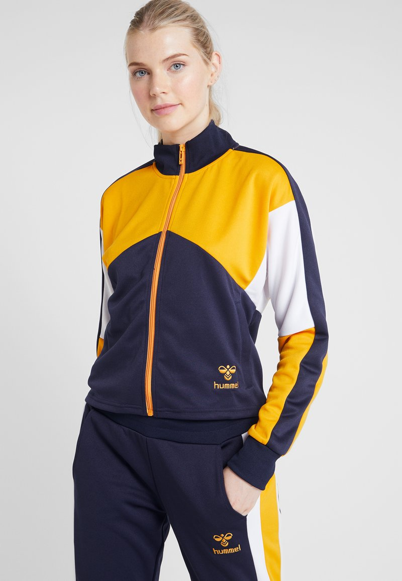 Hummel - ASHA TRACKSUIT - Dres - peacoat