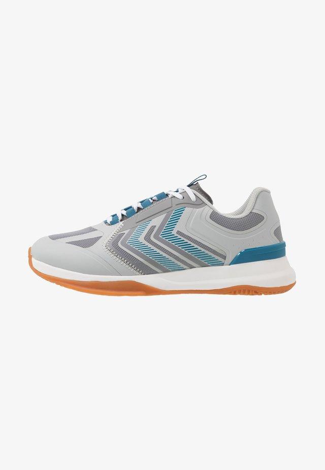 REACH LX - Handball shoes - gray/violet