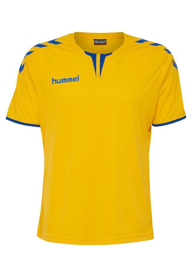 CORE - T-shirts print - sports yellow/true blue