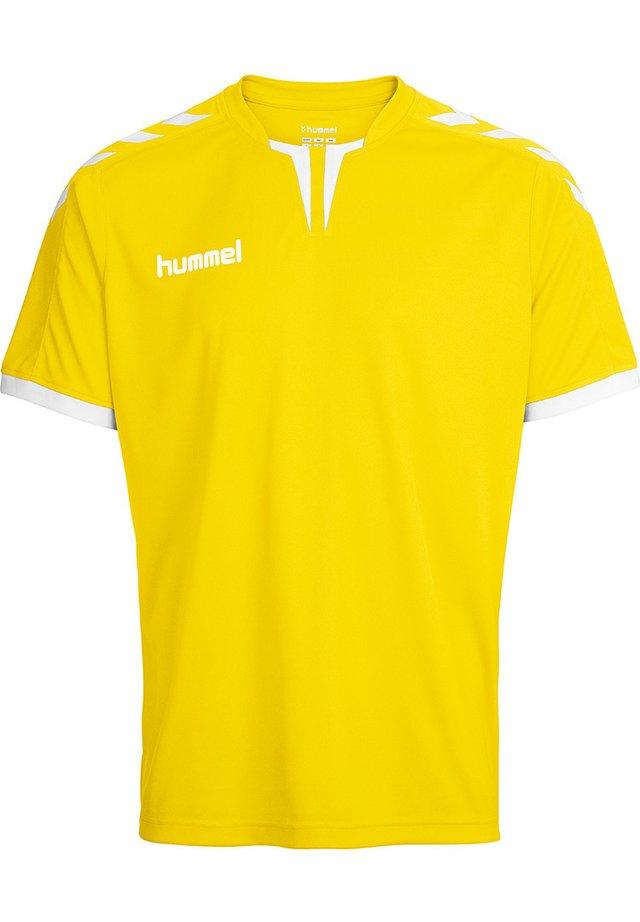 CORE - T-shirts print - sports yellow pr