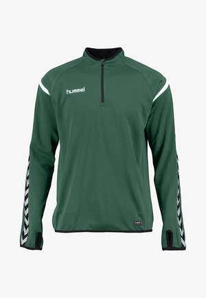 AUTH. CHARGE TRAINING - Long sleeved top - evergreen