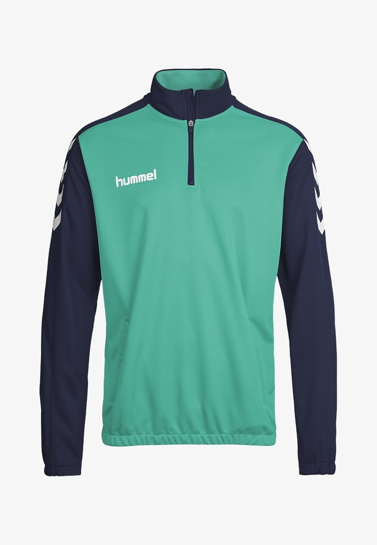Hummel - CORE ZIP - Langærmede T-shirts - true blue