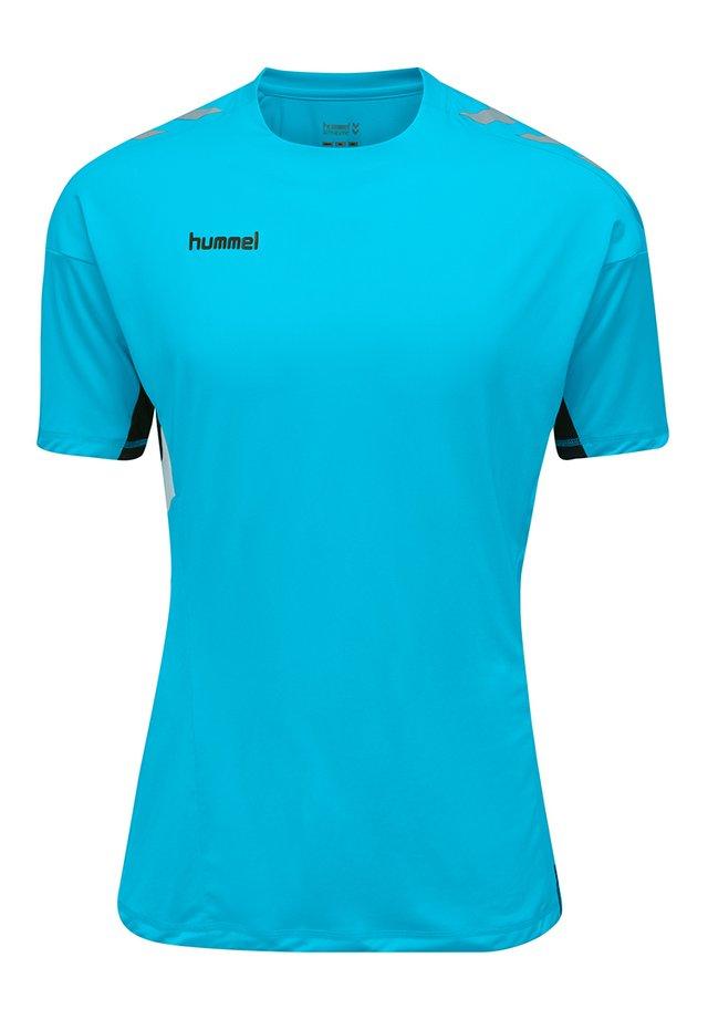 TECH MOVE - T-shirt print - scuba blue