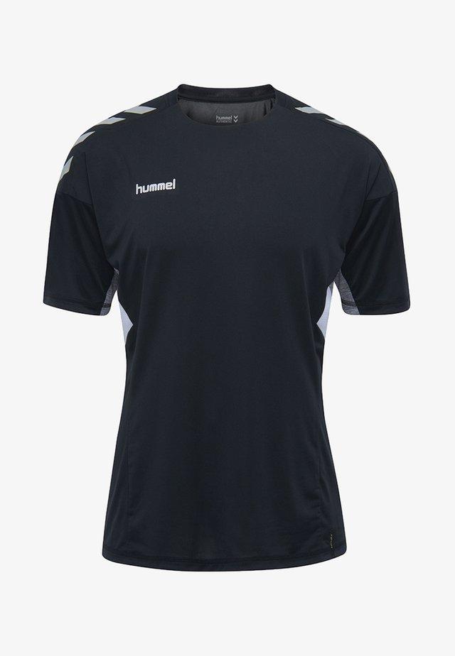 TECH MOVE - T-shirt med print - black