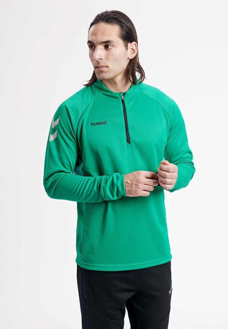 Hummel - TECH MOVE  - Bluzka z długim rękawem - green