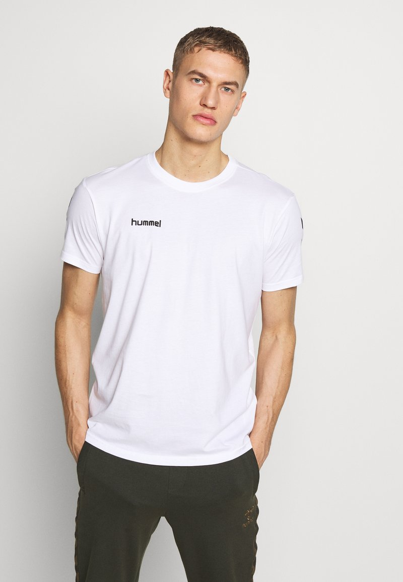 Hummel - Camiseta estampada - white