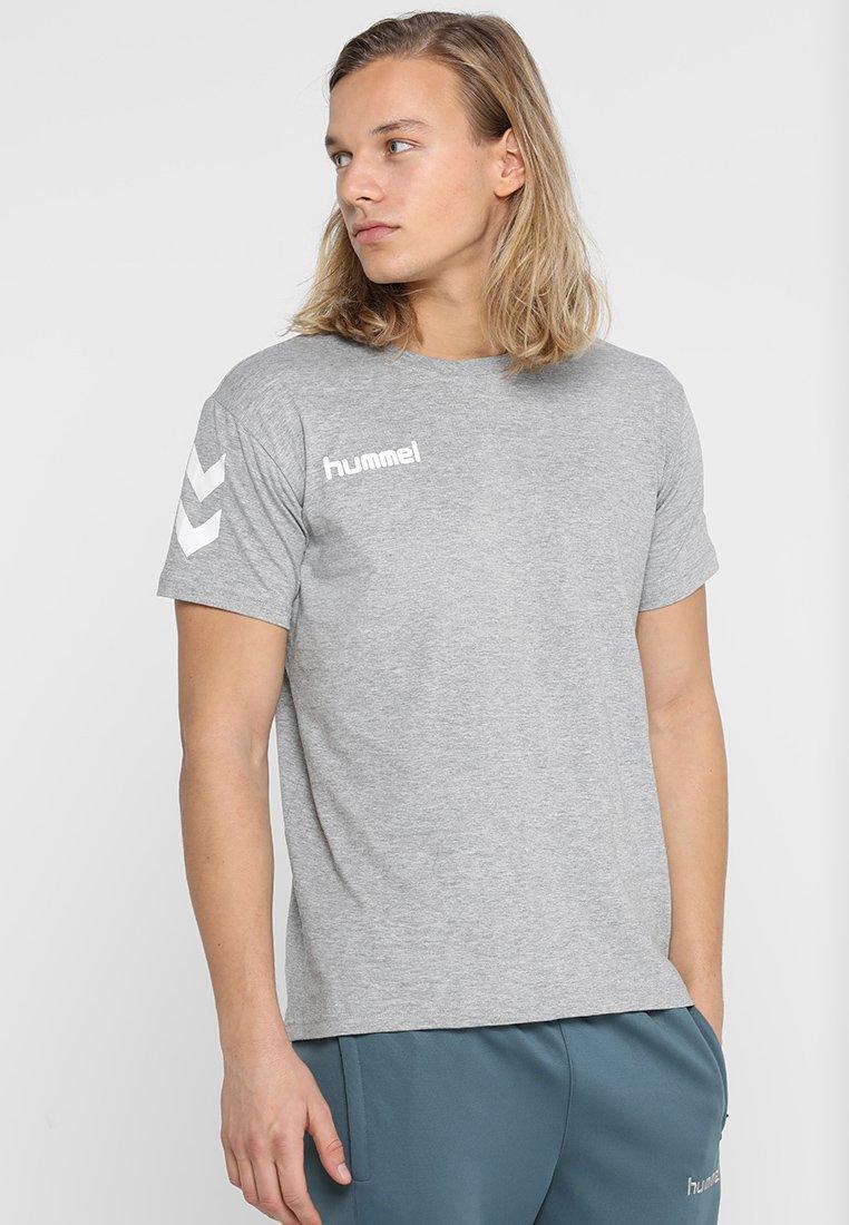 Hummel - T-shirts print - grey melange