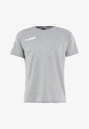 Printtipaita - grey melange