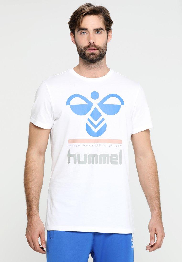 Hummel - WINSTON - T-shirts print - white