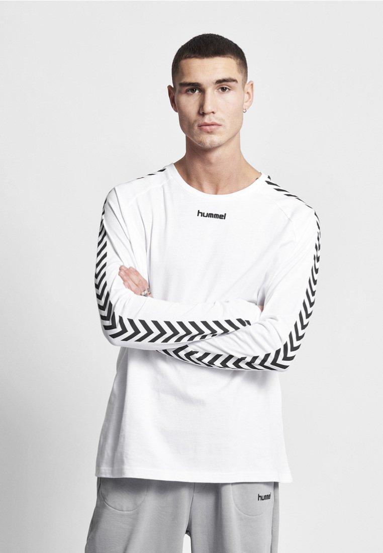 Hummel Hive - HMLAGGE - Langærmede T-shirts - white