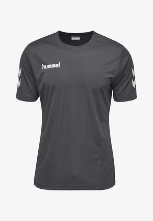 CORE  - Print T-shirt - grey