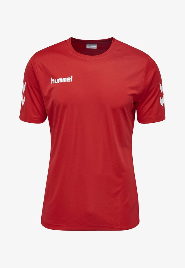 CORE  - T-shirt z nadrukiem - red
