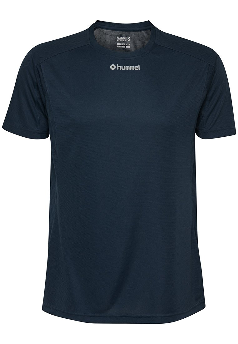 Hummel Print T-shirt - total eclipse