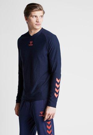 HMLJAREL  - T-shirt sportiva - black iris