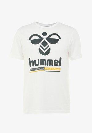 HMLJONAS  - Print T-shirt - white