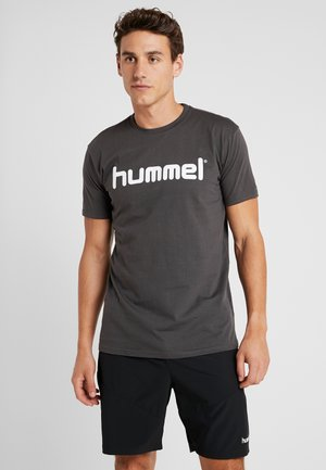 GO LOGO - Camiseta estampada - asphalt