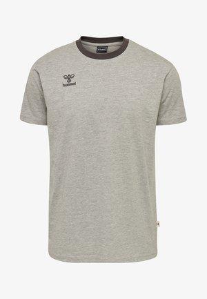 MOVE - Print T-shirt - grey melange