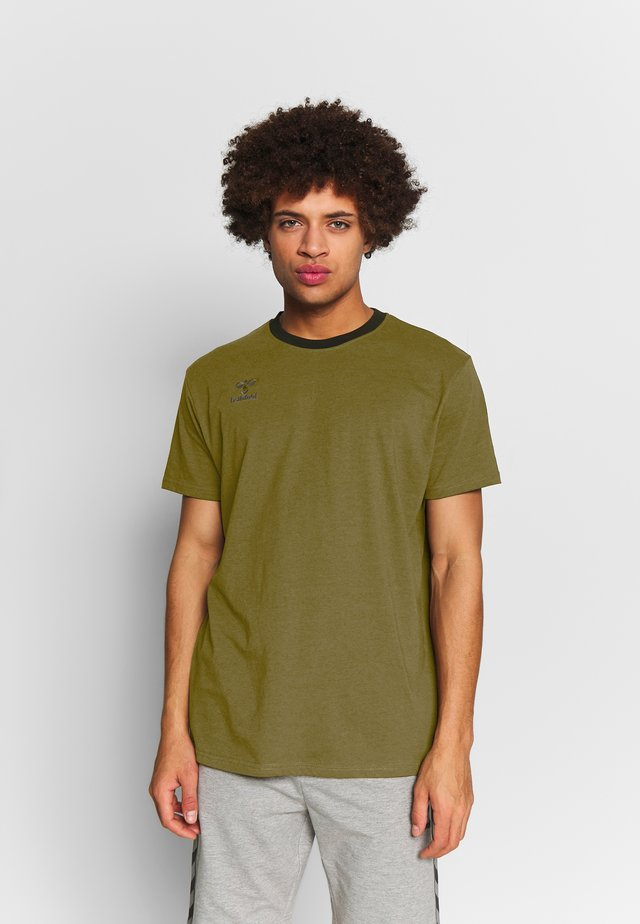 MOVE - T-Shirt print - dark olive