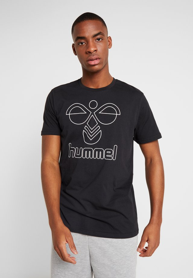 PETER - T-Shirt print - black