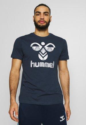 VALTER - Camiseta estampada - black iris