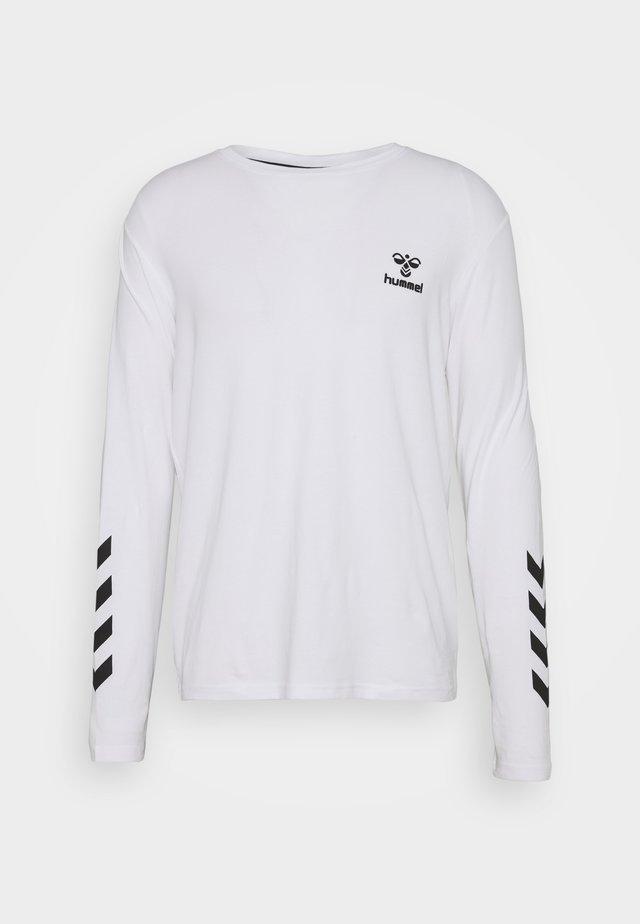 SIGGE - Langarmshirt - white