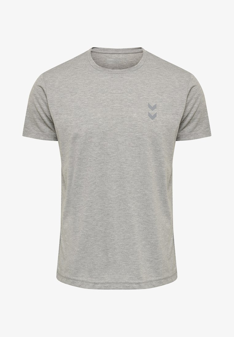 Hummel - HMLMORRENO PERFORMANCE - T-shirts print - grey melange