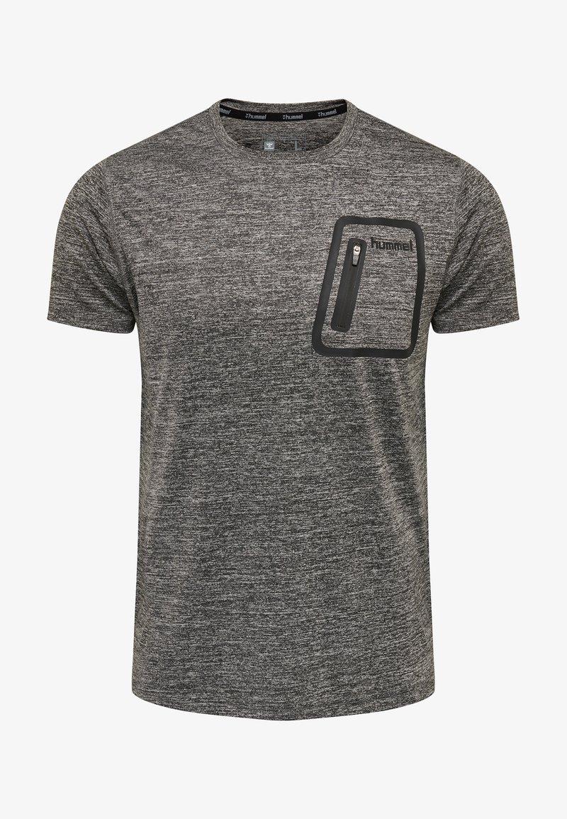 Hummel - MORTIN - T-Shirt print - mottled grey
