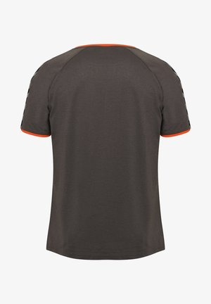 HMLAUTHENTIC - T-shirts print - asphalt