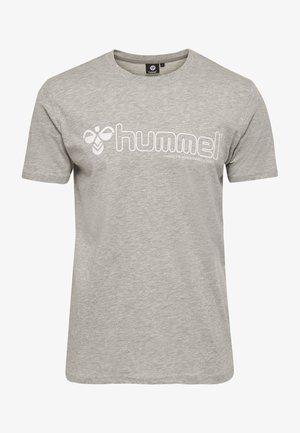 MARCEL - Print T-shirt - grey melange
