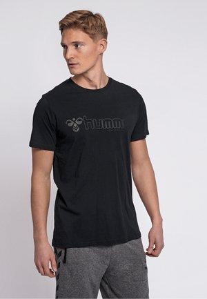 MARCEL - Print T-shirt - black