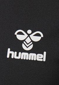 Hummel - LEINO  - Print T-shirt - black - 4