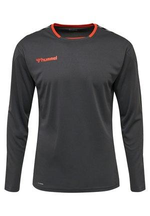 HMLAUTHENTIC - Long sleeved top - asphalt
