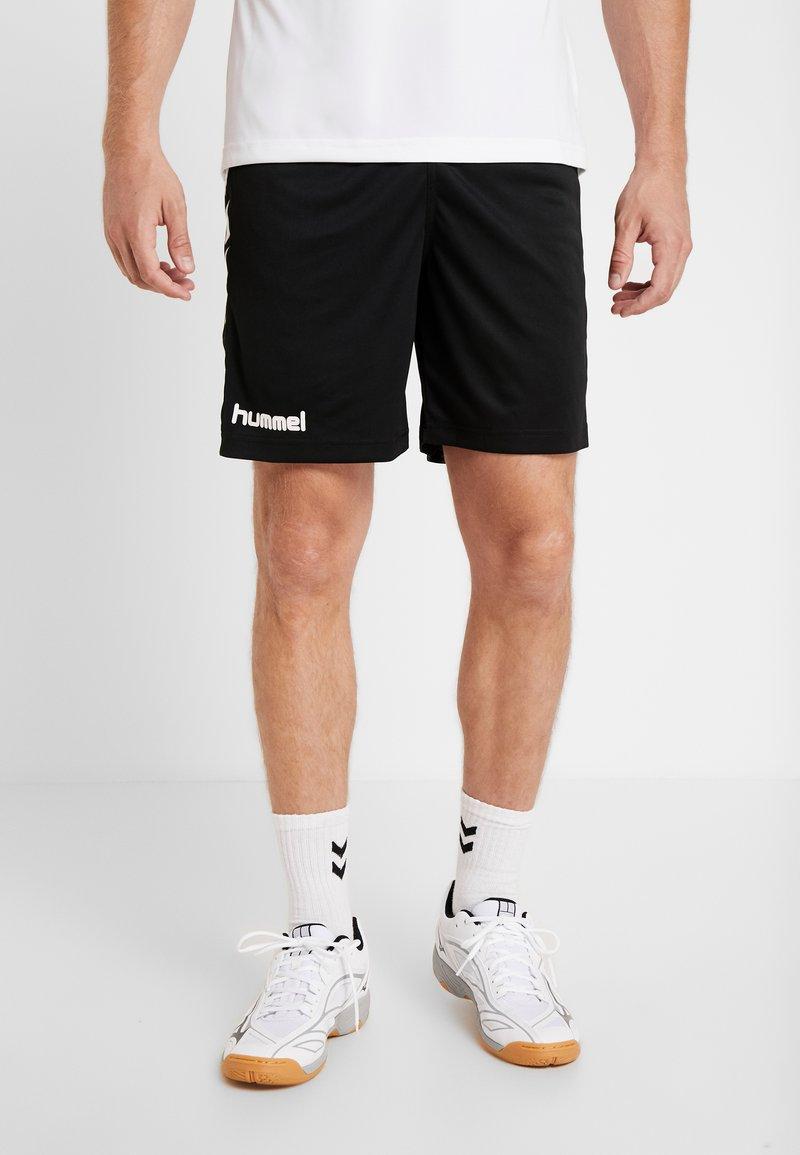 Hummel - CORE SHORTS - Krótkie spodenki sportowe - black