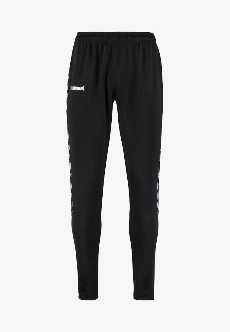 Hummel - AUTH. CHARGE FOOTBALL PANTS - Spodnie treningowe - black
