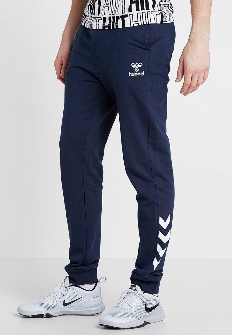Hummel - HMLMATEO PANTS - Spodnie treningowe - black iris