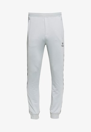 HMLNATHAN PANTS - Tracksuit bottoms - quarry