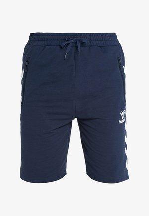 HMLRAY SHORTS - Sports shorts - black iris