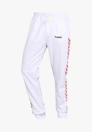ALFRED PANTS - Spodnie treningowe - white