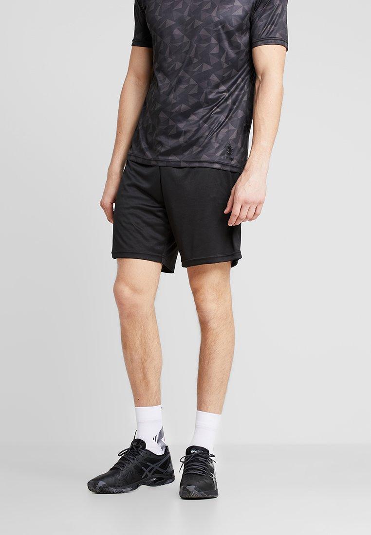Hummel - SHORTS - Pantalón corto de deporte - black