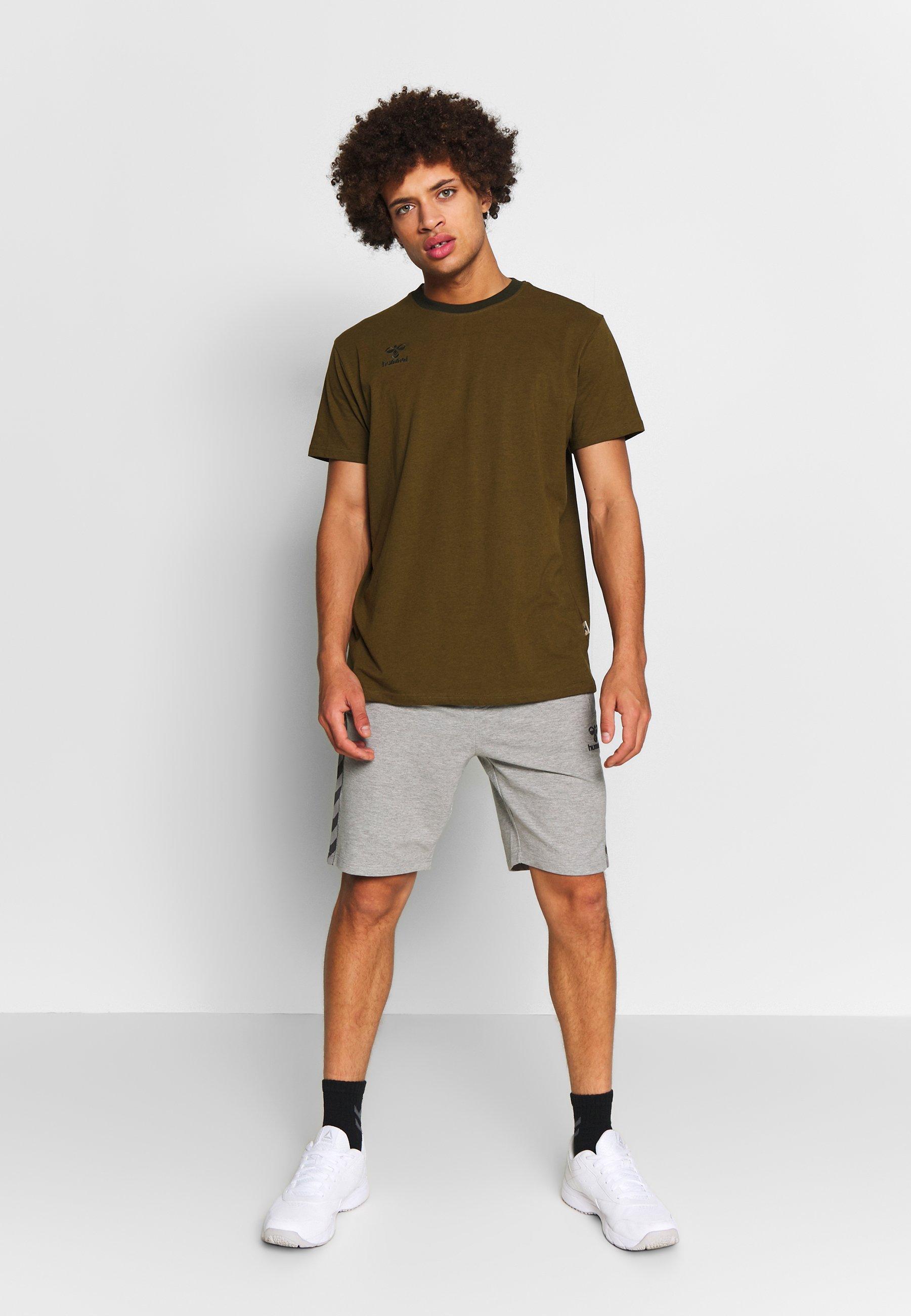 Hummel Move Classic Shorts - Short De Sport Grey Melange