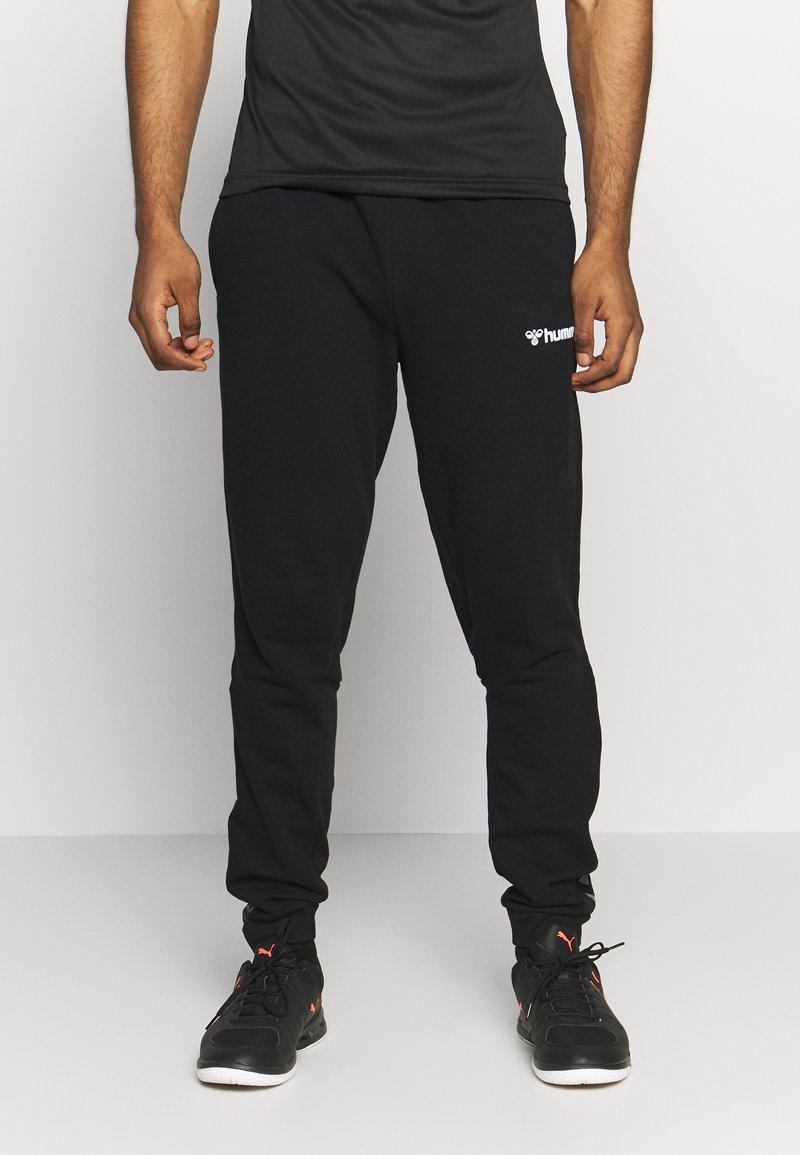 Hummel - AUTHENTIC PANT - Pantalones deportivos - black/white