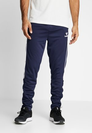 TAPERED PANTS - Pantalones deportivos - black iris
