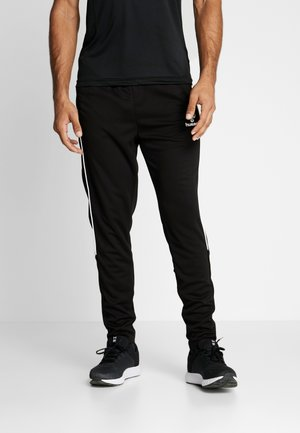 TAPERED PANTS - Pantalones deportivos - black