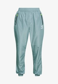 Hummel - MAGNUS PANTS - Pantaloni sportivi - quarry - 3