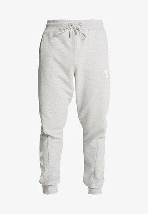 HMLISAM REGULAR PANTS - Tracksuit bottoms - grey melange