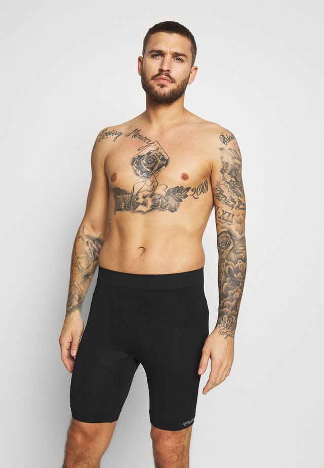 MARTIN SEAMLESS CYCLING SHORTS - Tights - black