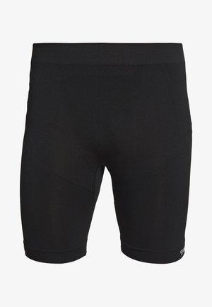 MARTIN SEAMLESS CYCLING SHORTS - Tights - black
