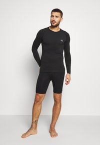 Hummel - MARTIN SEAMLESS CYCLING SHORTS - Medias - black - 1